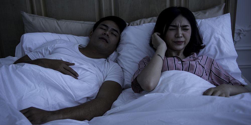 Tidur mangap bisa karena sleep apnea