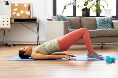 Posisi bridges merupakan peregangan untuk menambah tinggi badan