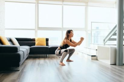 Squat merupakan salah satu peregangan untuk menambah tinggi badan