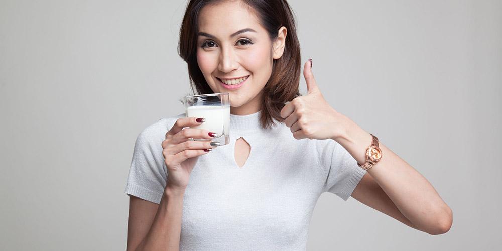 MInum segelas susu gandum memberikan banyak nutrisi bagi tubuh