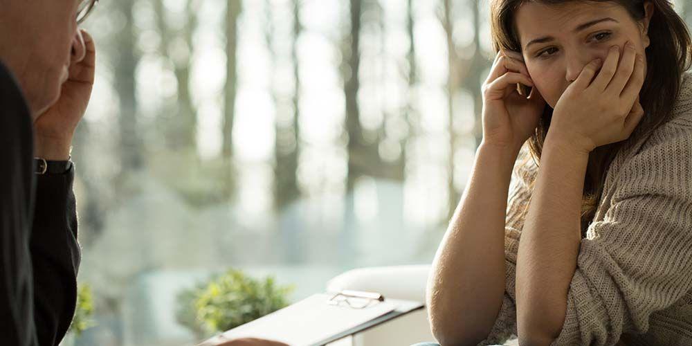 Pasien menjalani terapi gangguan histrionik