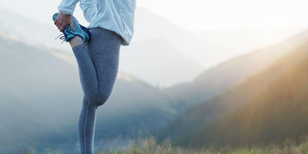 Quad stretch gerakan peregangan kaki