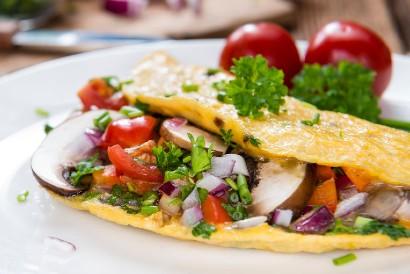 Resep omelet sayur bisa menjadi alternatif lauk yang sehat