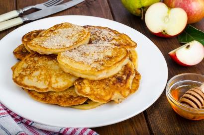 Resep pancake apel dan susu
