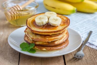 Resep pancake pisang dan oatmeal