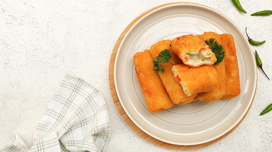 Resep risoles rogut sayur memiliki citarasa yang gurih dan creamy