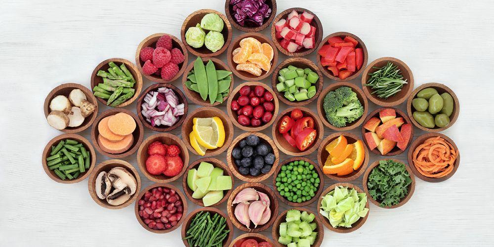 Sayuran dan buah-buahan berwarna adalah sumber antioksidan