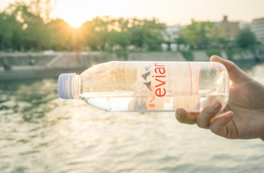 Evian salah satu merek air mineral ph tinggi