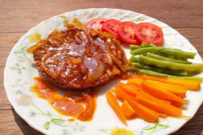 Resep olahan tempe yang lezat dan sehat adalah steak tempe