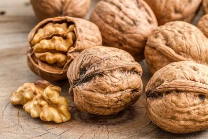 Salah satu sumber lemak nabati adalah kacang kenari
