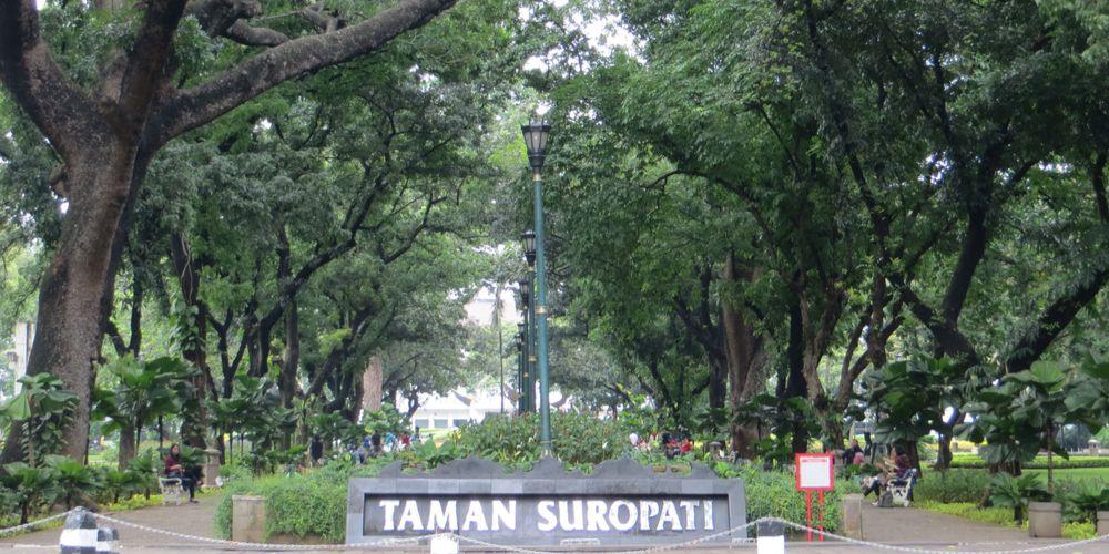 Taman Suropati, Menteng, Jakarta pusat, Taman di Jakarta yang cocok jadi tempat olahraga