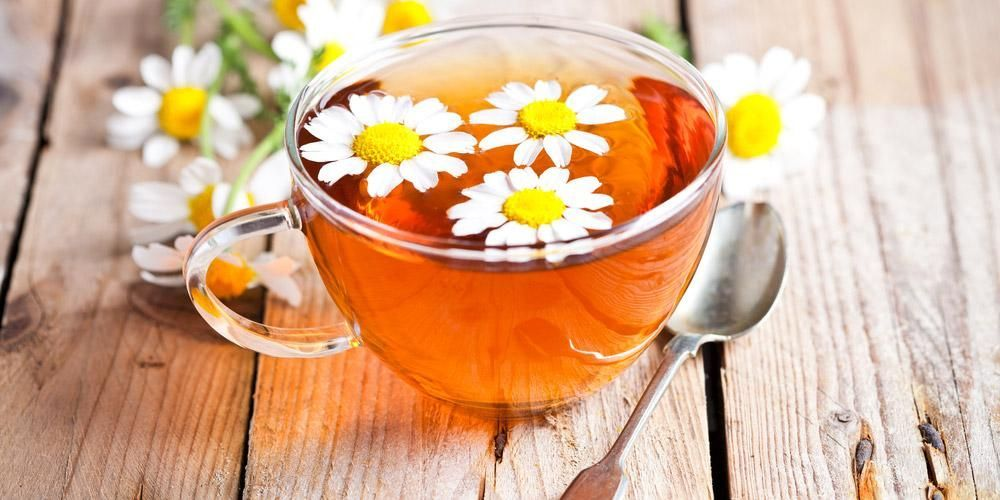 Teh chamomile jenis teh yang baik diminum sebelum tidur