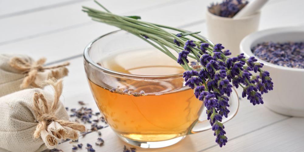 Minum teh sebelum tidur baik menggunakan teh lavender