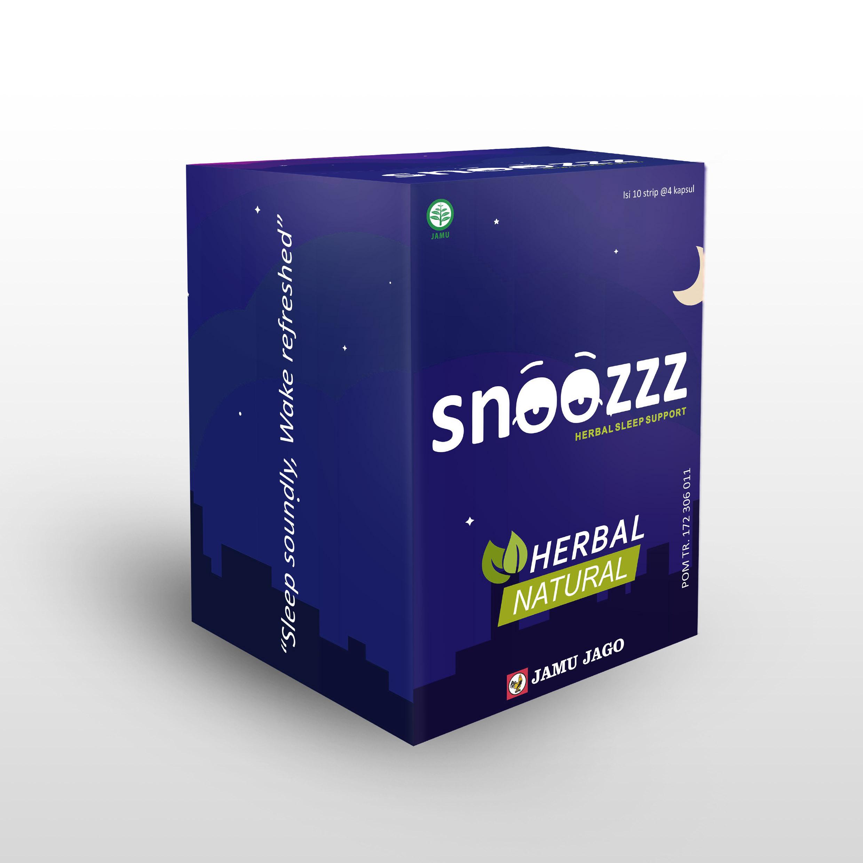Suplemen Snoozzz dari Jamu Jago untuk membantu cepat tidur