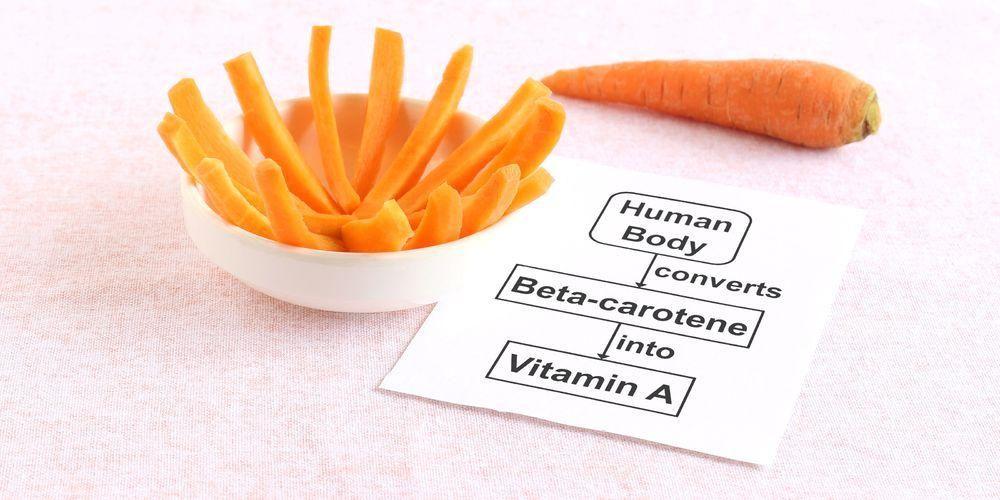 Salah satu vitamin perokok yang penting dikonsumsi adalah beta-karoten