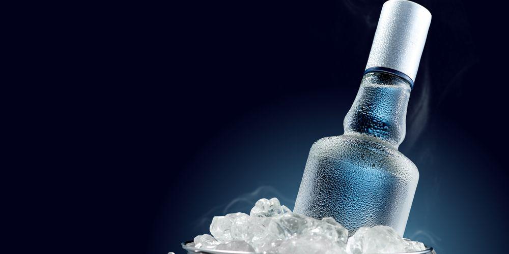 Vodka mengandung kadar alkohol di atas 40%