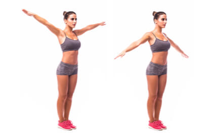 Cara membesarkan payudara dengan gerakan arm circle