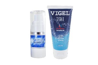 Vigel Tight dan Vigel Sparkle adalah 2 gel pelumas yang aman digunakan saat bercinta